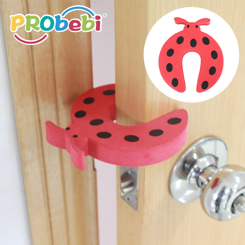 Red wholesale door guard baby safety