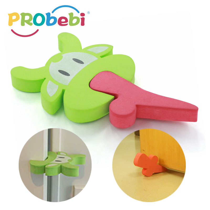 New care baby safety dual purpose door stopper