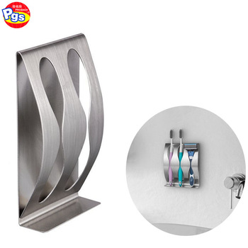 stainless steel toothbrush holders