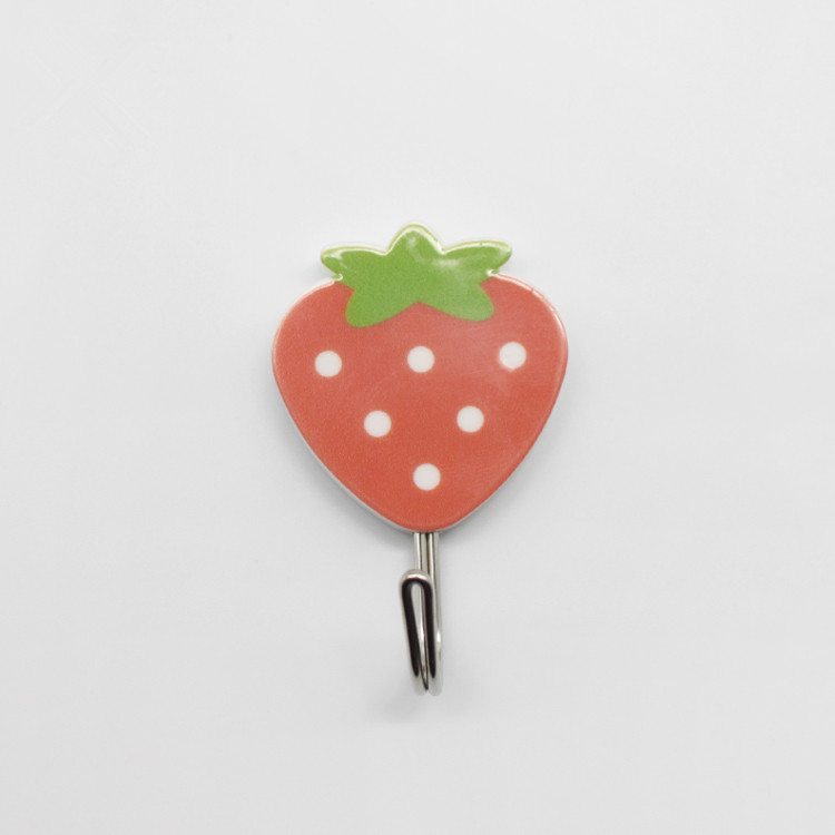 Strawberry Shaped Pattern Wall Hook