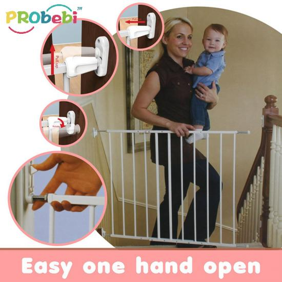 metal baby safe gate