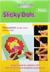 transparent craft adhesive sticky dots