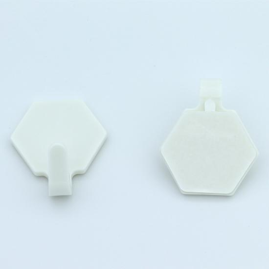 Plastic Heavy Duty White Wall Hook with Manufacture Price