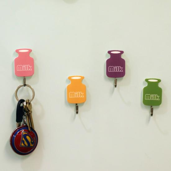 Self-adhesive Bottle Shaped Strong adhesion Coat Hook