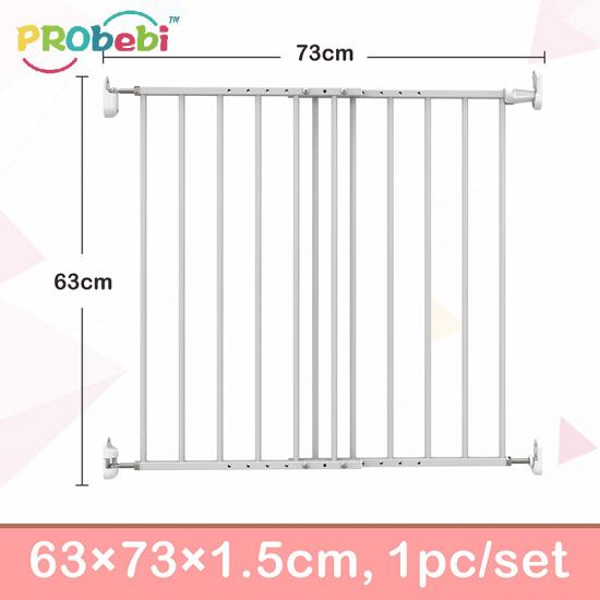 Metal pet friendly safety baby gates