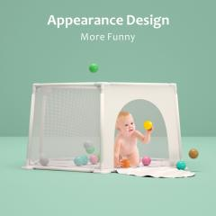 Foldable eco friendly funny baby gate