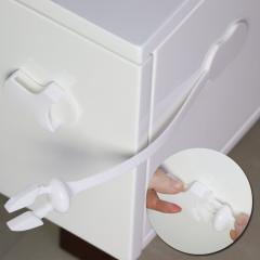 Baby care toilet cabinet locks
