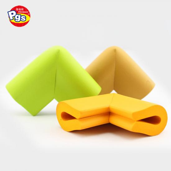 Smooth Surface NBR Material Various Color Choice Corner Protector For Kids