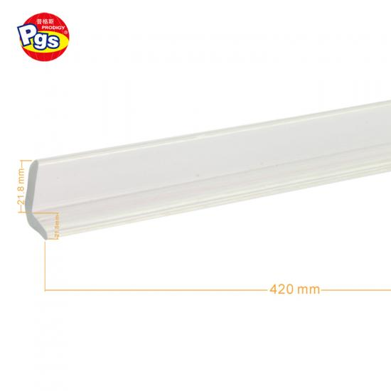 Adhesive Tape Header Card Package Transparent PVC Edge Protector For Kids