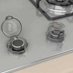 2pcs Pack Clear Heat Resistance Stove Protection for kitchen safe