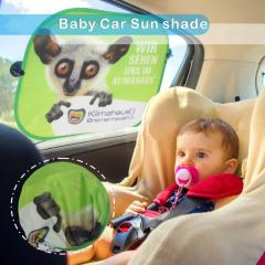 Extra Large Double-Sided Cute Car Sunshade Cover