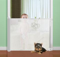 Upgrade Rollable Baby Stuff Mesh Safety Gate